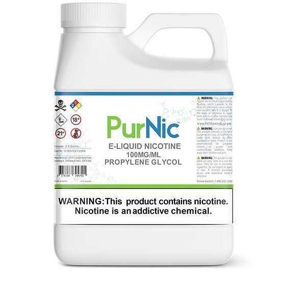 NICOTINA LIQUIDA 100MG/ML PG BY PURNIC