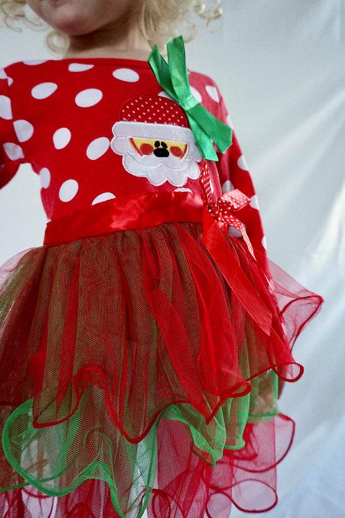 Santa Dot Dress