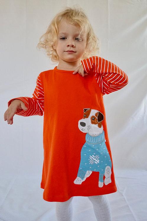 Winter Pup Dress