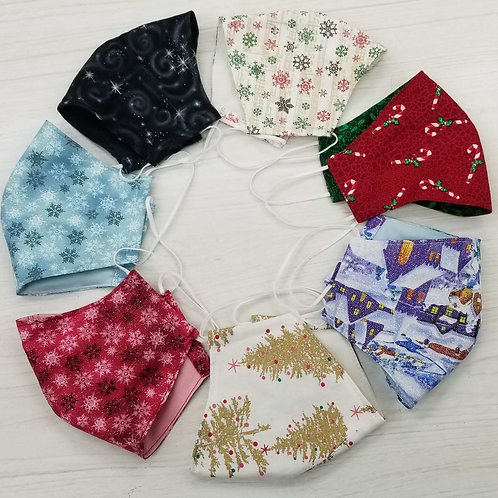 Christmas Fitted Facemasks
