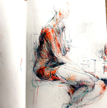 NYC Drawing Workshop: The Space of the Figure