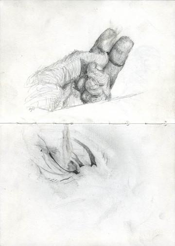 Sketchbook 13 (Tom Died)