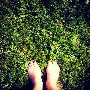 Don't walk on the grass, smoke it