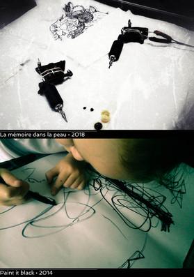 La mémoire dans la peau / Paint it black