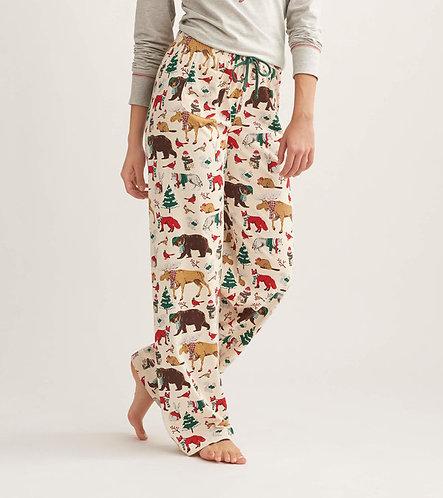 Woodland Winter Jersey Lounge Pants