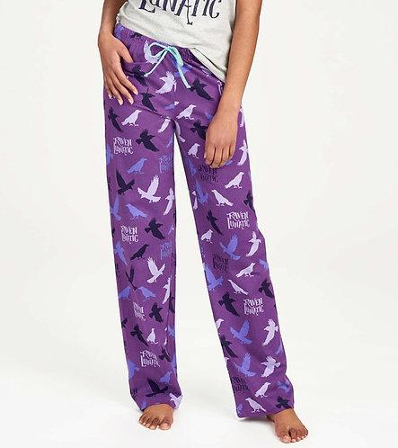 Raven Lunatic Lounge Pants