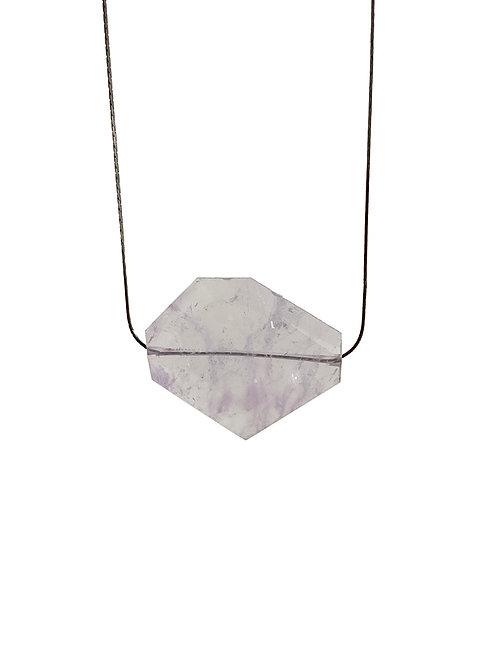 Colar Ametista Triangle