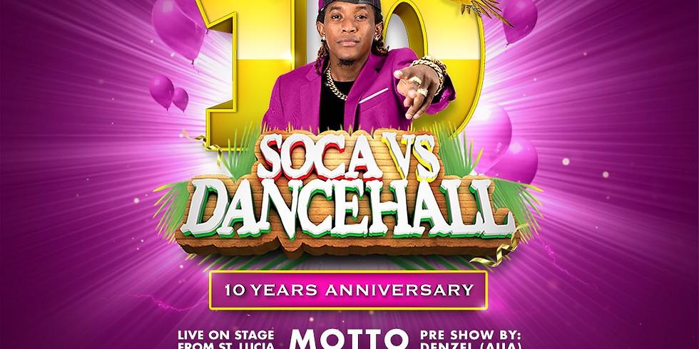 Soca vs Dancehall 10 Year Anniversary