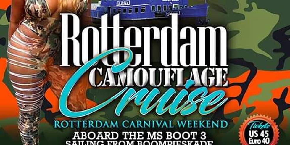 Camouflage Boat Cruise