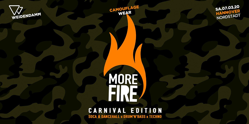 More Fire Carnival - Camouflage Party