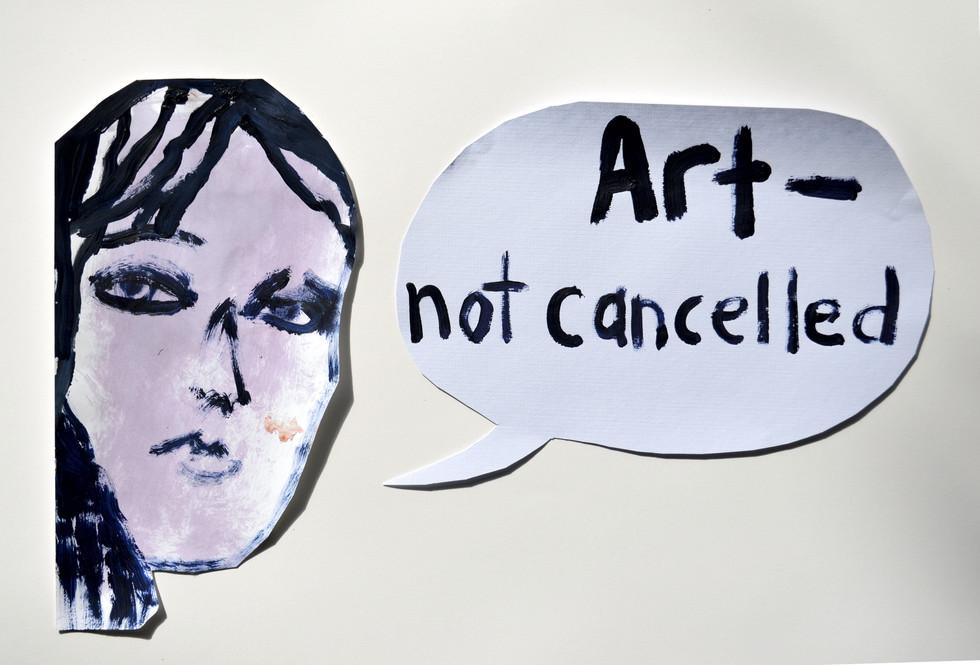 Art - not cancelled