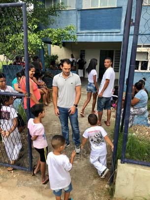 Vereador Thiago K. Ribeiro visita Nova Sepetiba