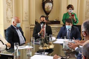 Vereador Thiago K. Ribeiro participa da primeira reunião do Colégio de Líderes na Câmara Municipal