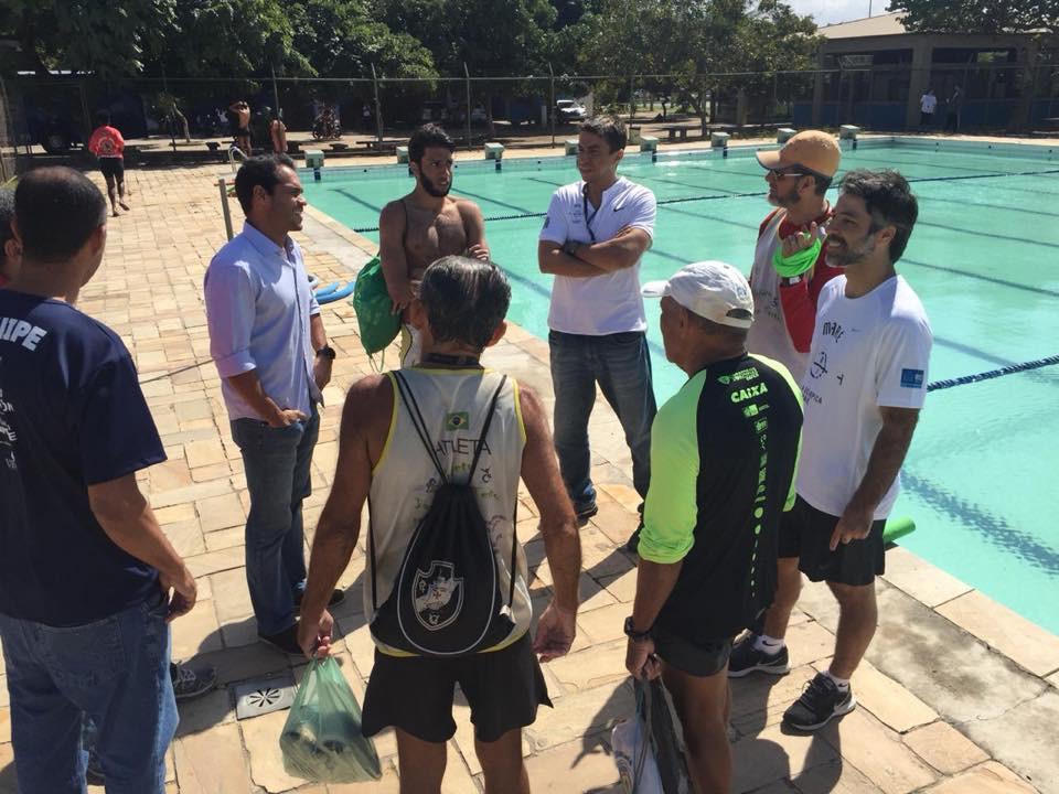 Vereador Thiago K. Ribeiro visita Vila Olímpica do Complexo da Maré
