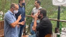 Eduardo Paes e o Vereador Thiago K. Ribeiro na Rocinha e em Santa Tereza [Agosto/2020]