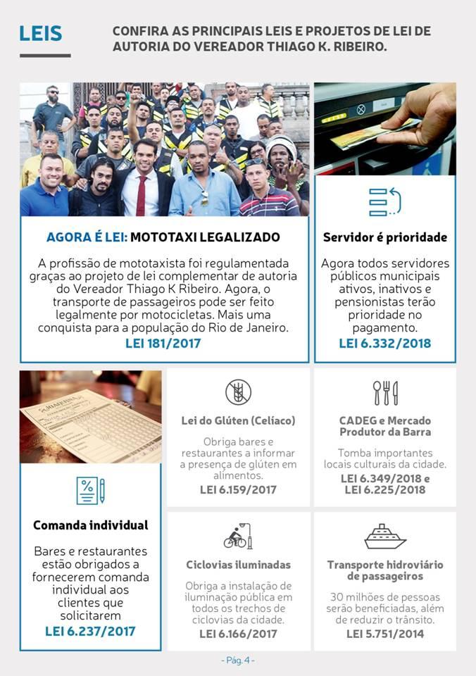 Principais leis do  Vereador Thiago K Ribeiro