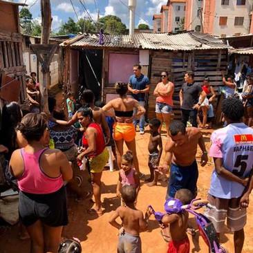 Vereador Thiago K. Ribeiro presta solidariedade aos moradores da Ocupação Unidos Venceremos