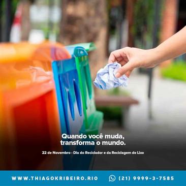 Dia do Reciclador e da Reciclagem do Lixo [2020]