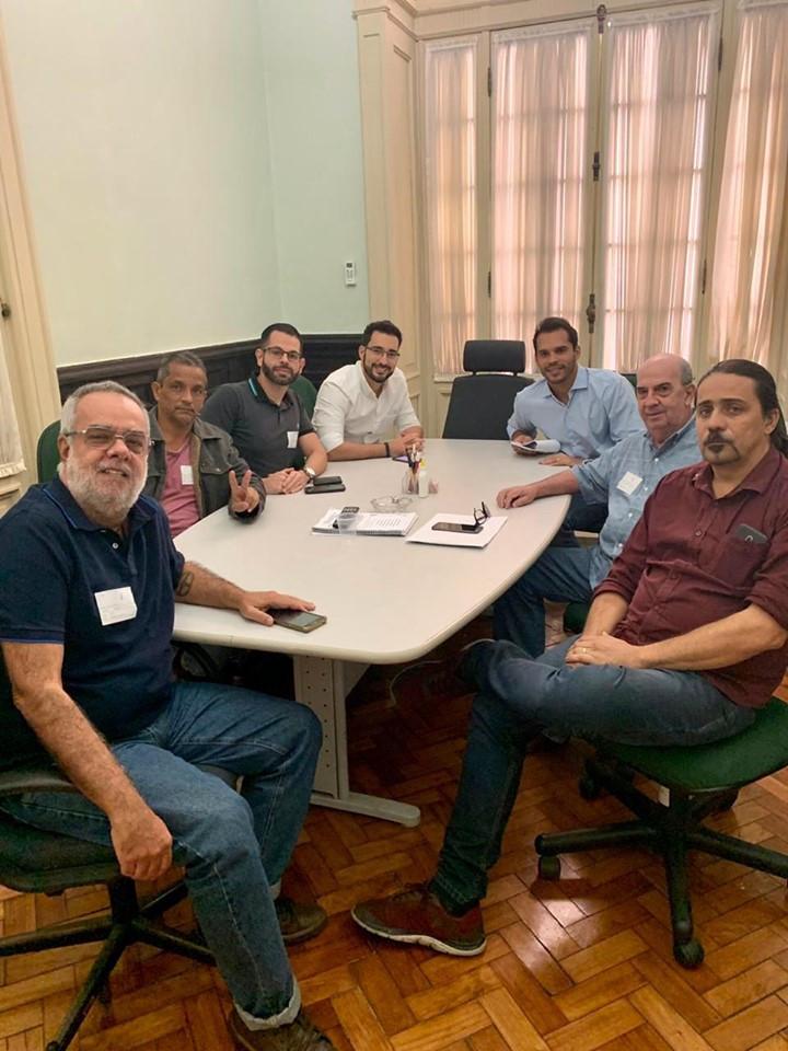 Visita de representantes do Movimento Pró Autódromo RJ