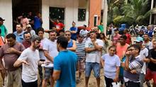 Thiago K. Ribeiro vai a Muzema para acompanhar e orientar os moradores