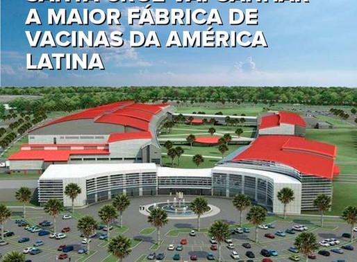 Fábrica de vacinas da Fiocruz será instalada no Distrito Industrial de Santa Cruz