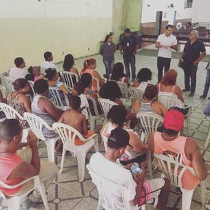 Obras nas comunidades Dique e Furquim Mendes