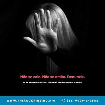 Dia de Combate à Violência contra a Mulher [2020]