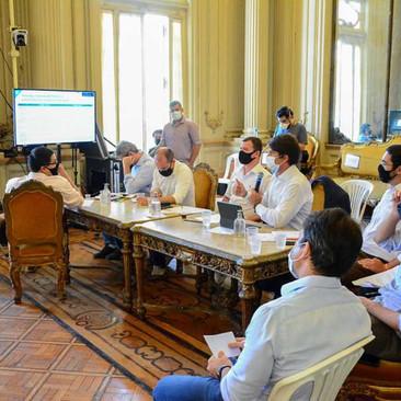 Vereador Thiago K. Ribeiro participa de reunião de debate ao desenvolvimento econômico e tributário