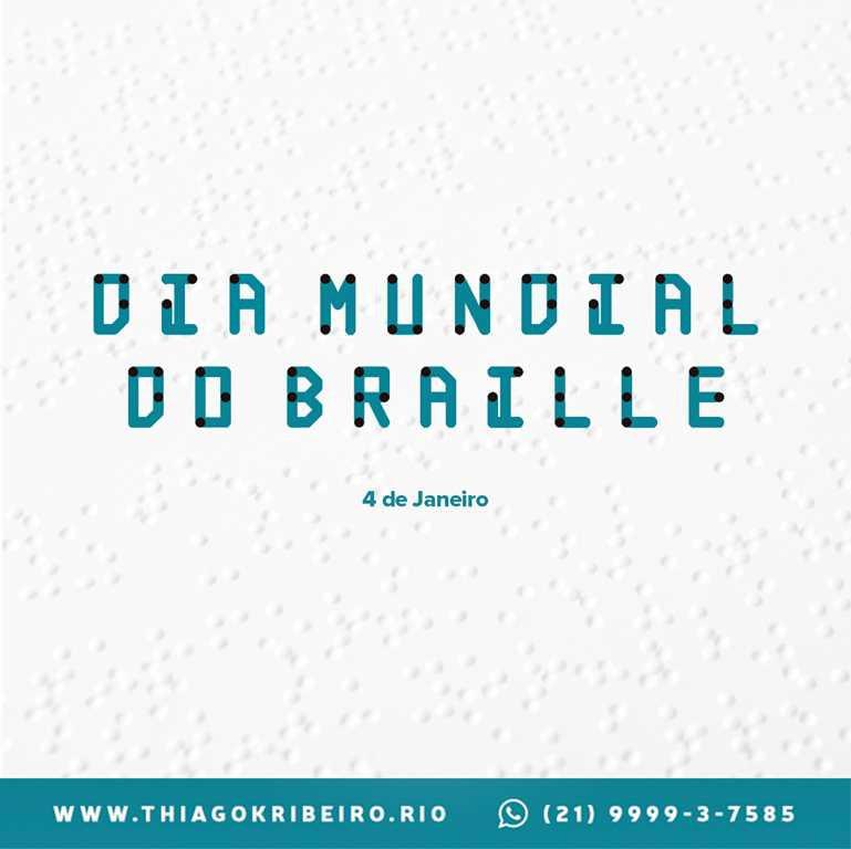 Dia Mundial do Braille 2021