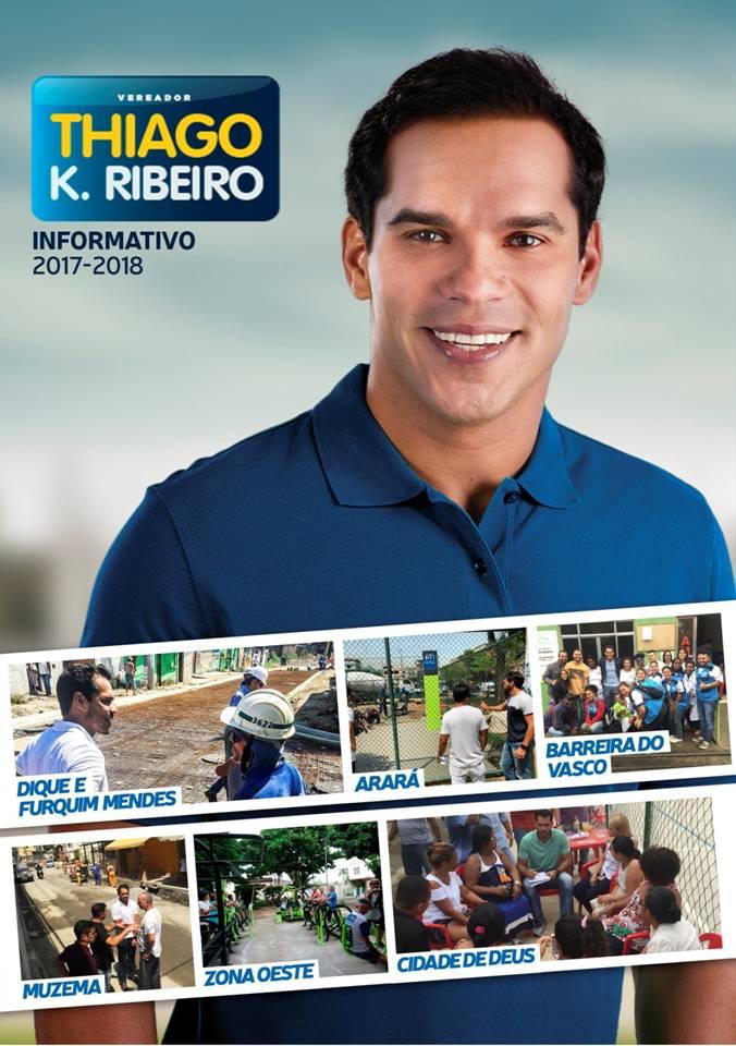 Informativo 2017/2018 do Vereador Thiago K Ribeiro.