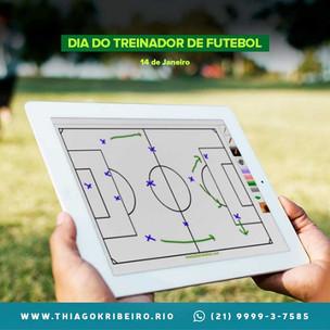 É Hoje: Dia do Treinador de Futebol 2021