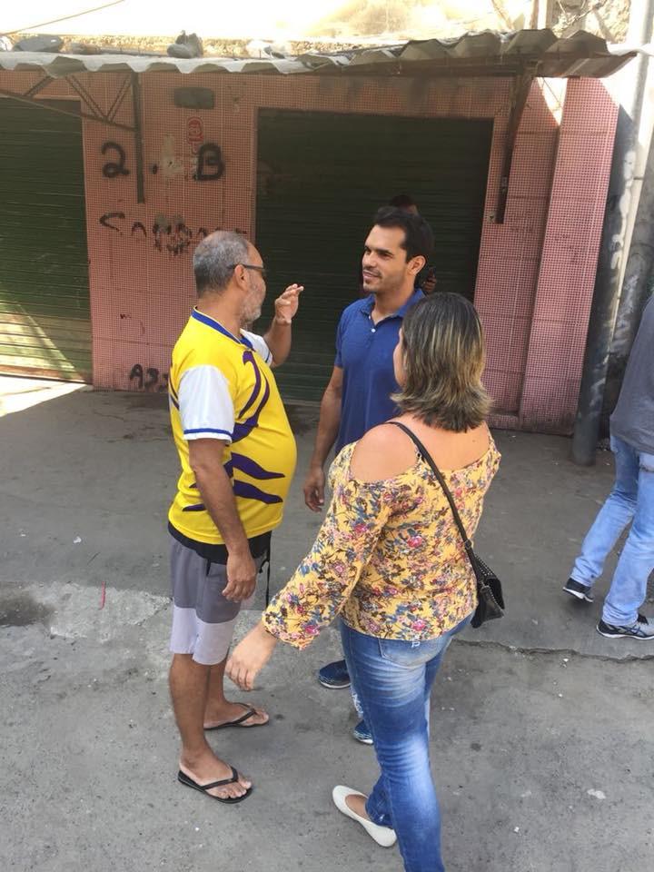 Obras do Morar Carioca no Arará