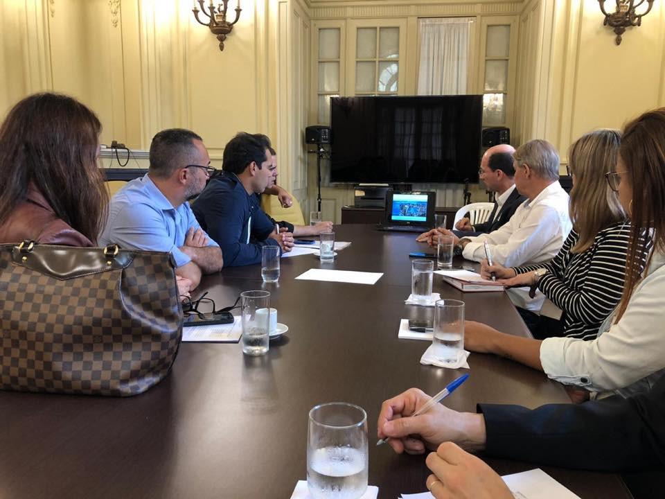 Reunião com Comissão Especial que acompanha a implantação do Autódromo no Rio de Janeiro