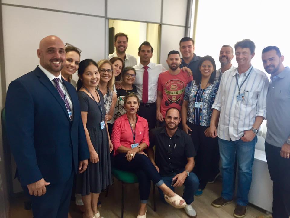 Equipe gabinete vereador Thiago K. Ribeiro