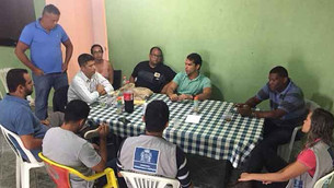 Vereador Thiago K. Ribeiro participa de reunião com as lideranças do Arará