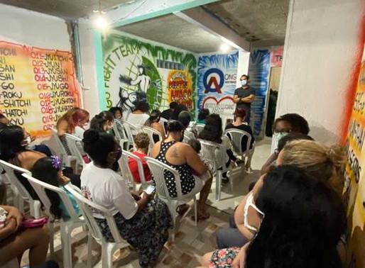 Vereador Thiago K. Ribeiro visita o Instituto Amor ao Próximo em Jardim Guaratiba