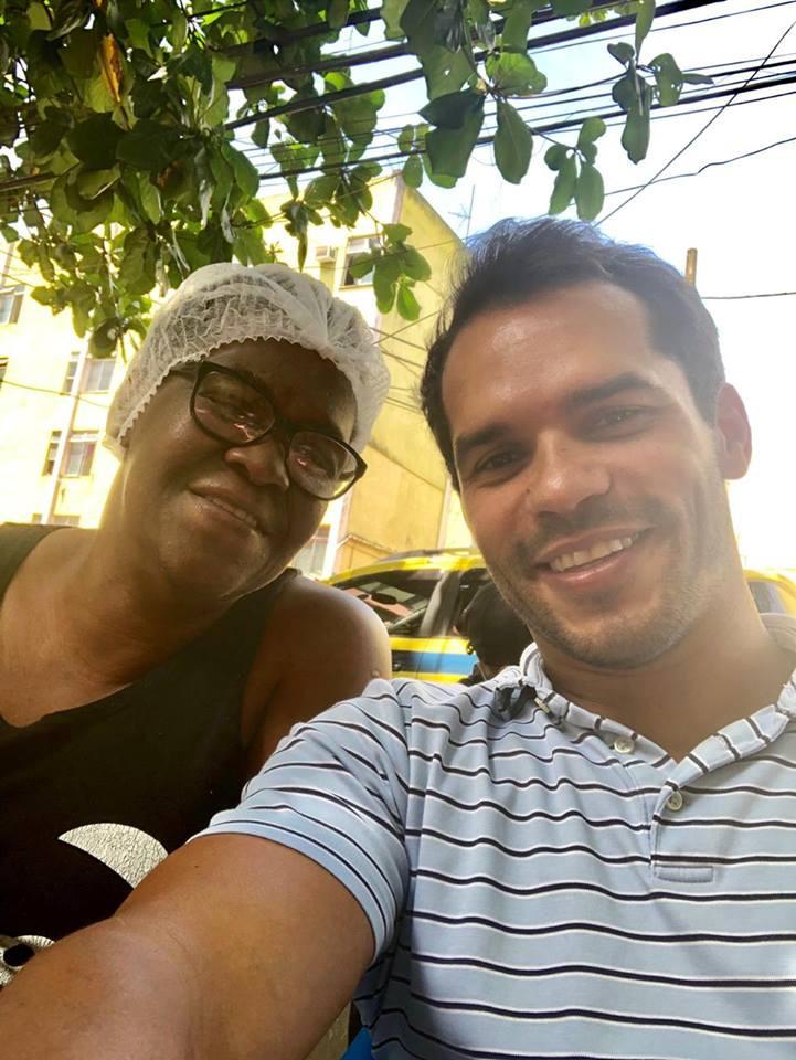 Vereador Thiago K. Ribeiro visita a Cidade de Deus