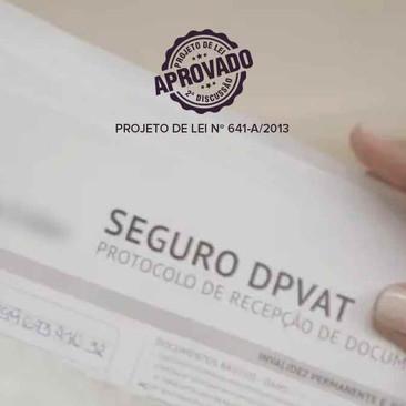 Aprovado Projeto de Lei que torna obrigatória a afixação de cartazes informativos sobre o DPVAT