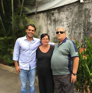 Visita à União dos Cegos do Brasil