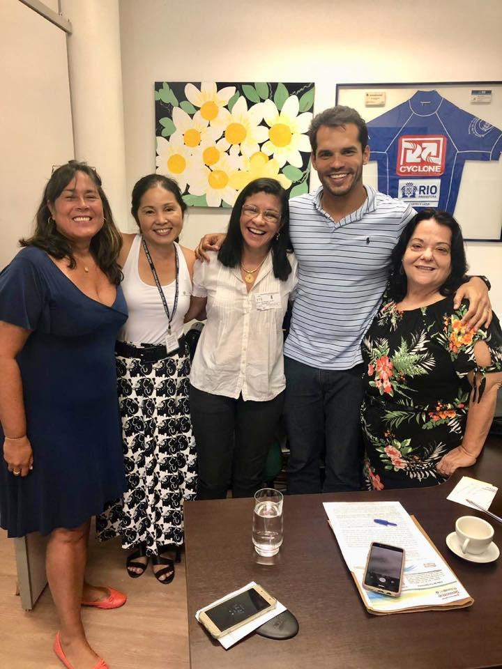 Visitas especias no gabinete do Vereador Thiago K. Ribeiro