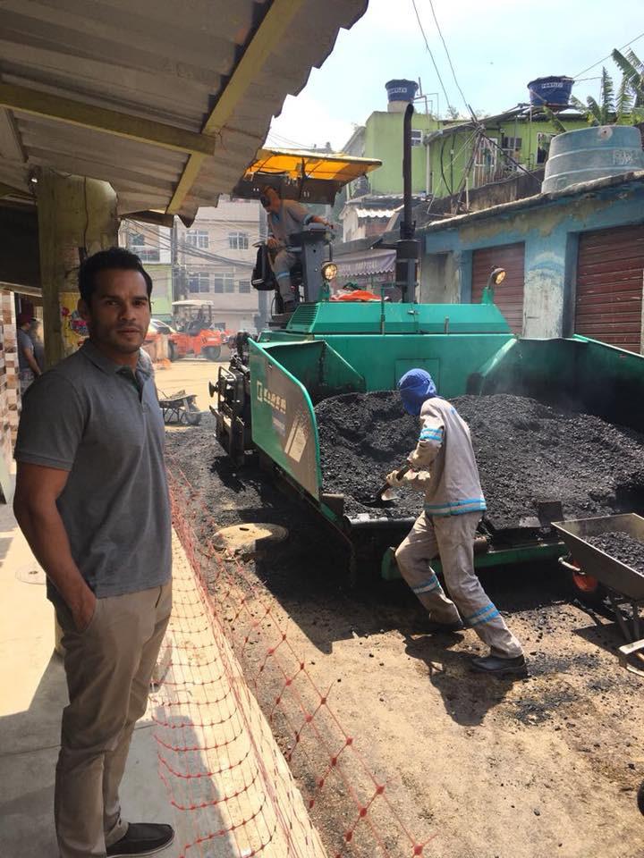  Mais uma melhoria chegando na comunidade do Arará