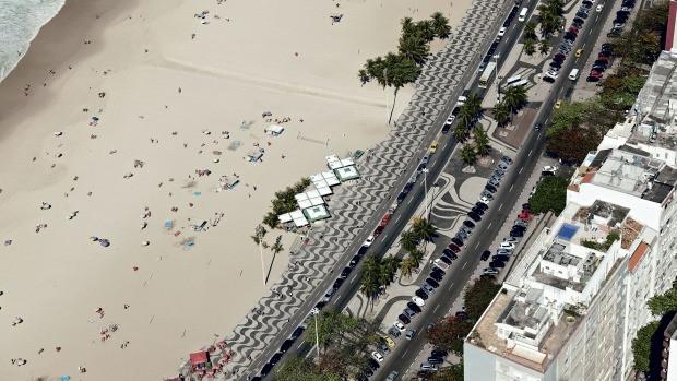 Orla Copacabana Ambiental Roberto Burle Marx