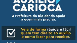 Fique por dentro do Auxílio Carioca