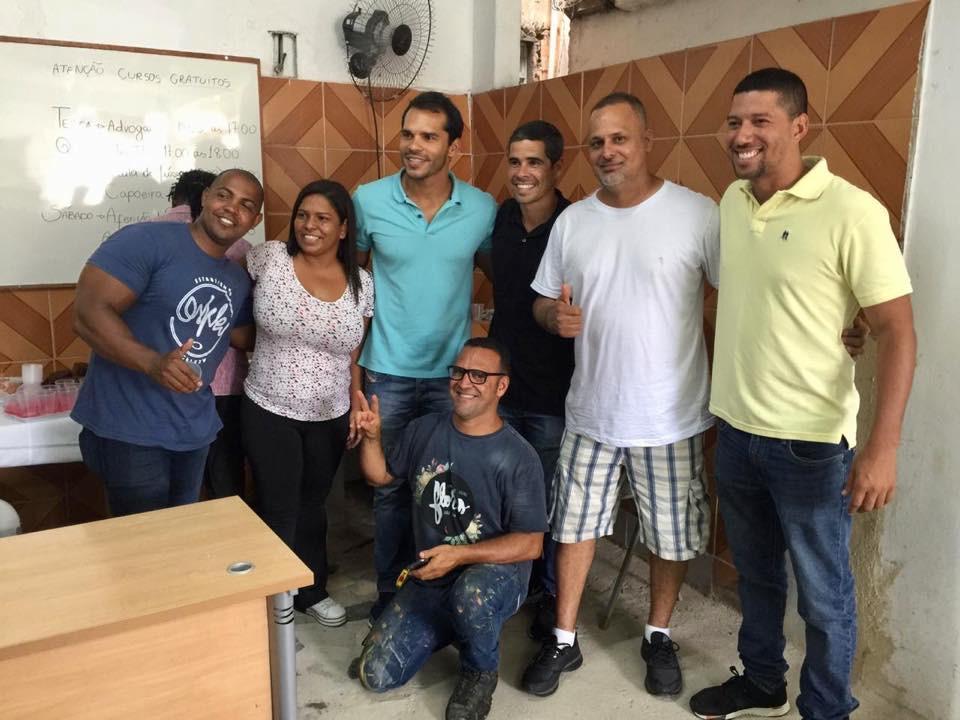 Reuniões em Curicica e na Taquara