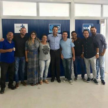 Thiago K. Ribeiro se compromete a acompanhar a situação de agentes de saúde