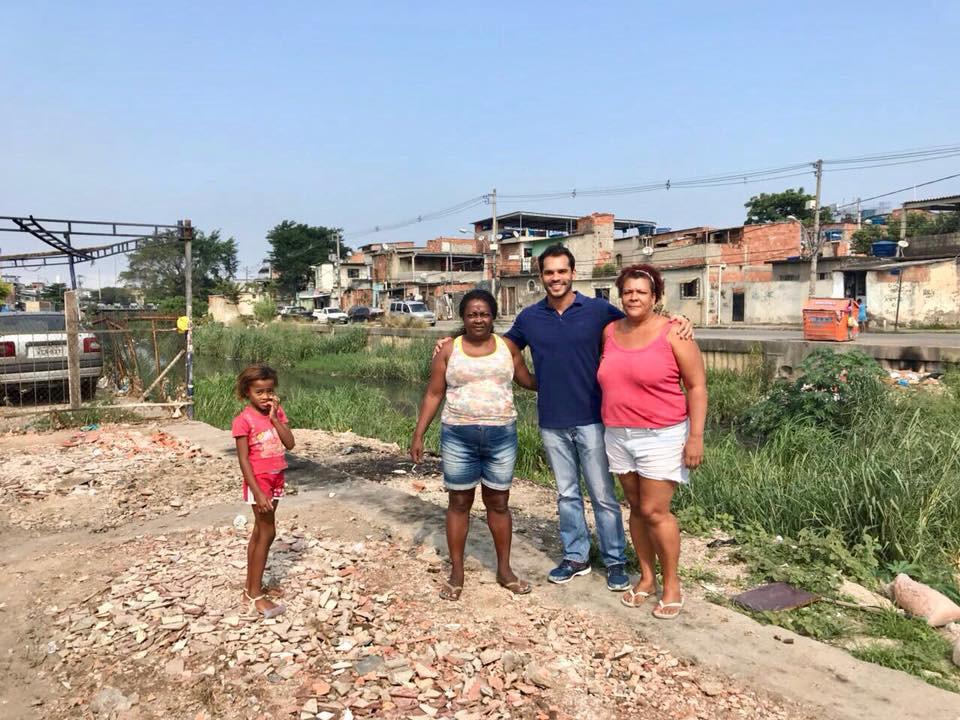 Thiago K. Ribeiro na Cidade de Deus