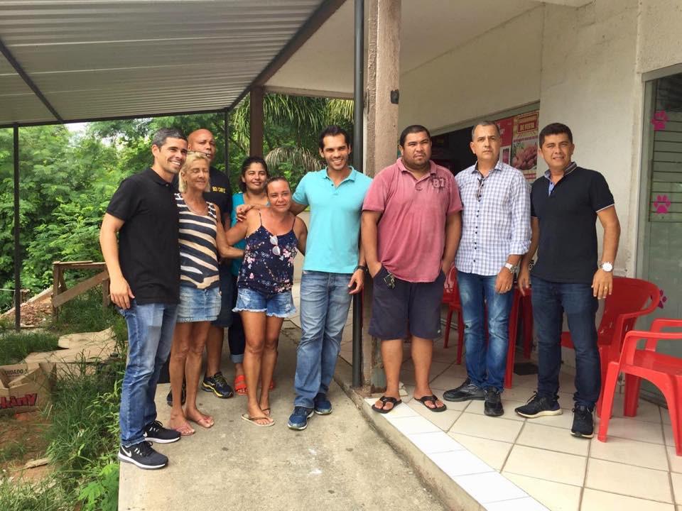 Reuniões nos condomínios Recanto do Recreio e Parque Carioca