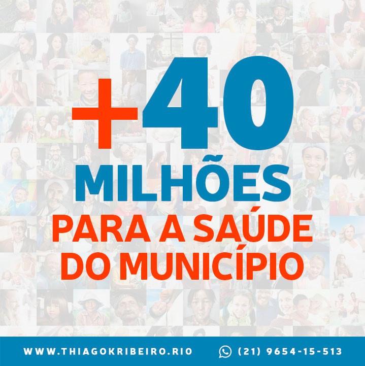 Vereador Thiago K. Ribeiro vota a favor de transferência de R$ 40 milhões ao Tesouro Municipal que será utilizado na área da Saúde