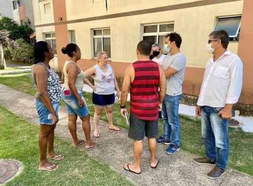 Vereador Thiago K. Ribeiro com Moradores de Santa Cruz e Campo Grande
