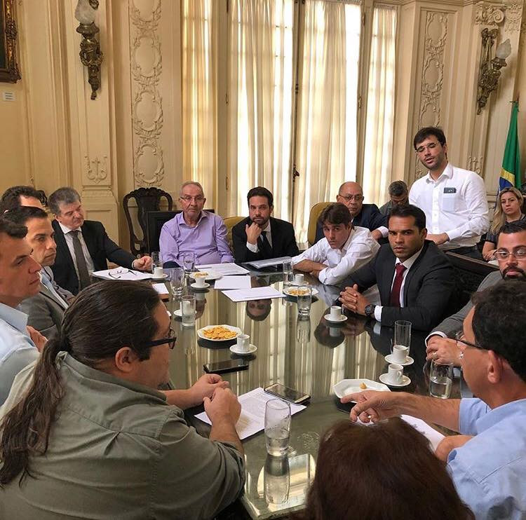 Reunião com o Secretário Municipal de Fazenda